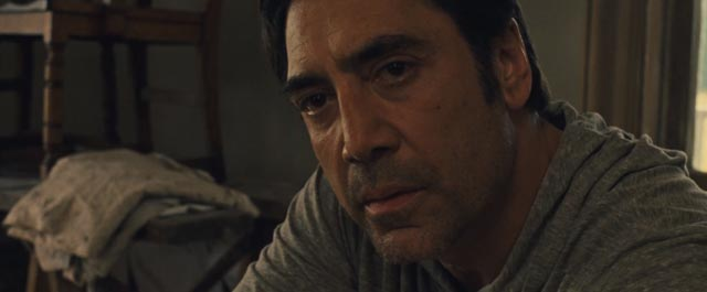 Him (Javier Bardem), the self-centred, egotistical god who inspires destructive madness in his followers in Darren Aronofsky's mother! (2017)