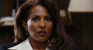 Pam Grier is smarter than all the scheming men around her in Quentin Tarantino's Jackie Brown (1997)