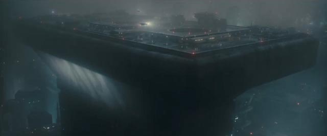 ... gives way to a murky, colourless future in Denis Villeneuve's Blade Runner 2049 (2017)