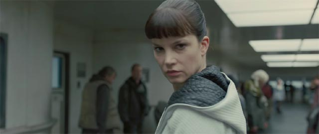 ... while Wallace's henchwoman Luv (Sylvia Hoeks) is just an ass-kicking cipher in Denis Villeneuve's Blade Runner 2049 (2017)