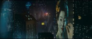 Blade Runner's media-saturated cityscape ...
