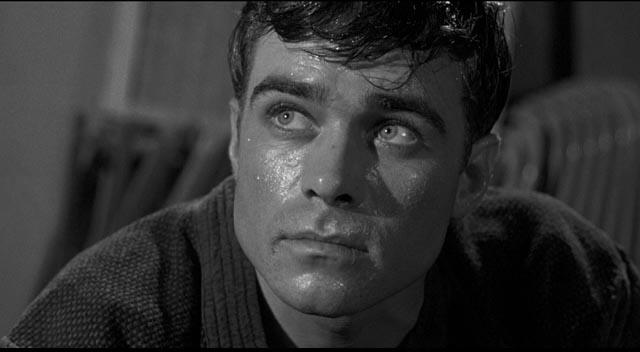 Glenn Corbett as Detective Sergeant Charlie Bancroft in Samuel Fuller's The Crimson Kimono (1959)