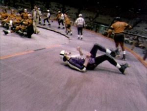 Bone-crunching action in Robert Kaylor's documentary Derby (1971)