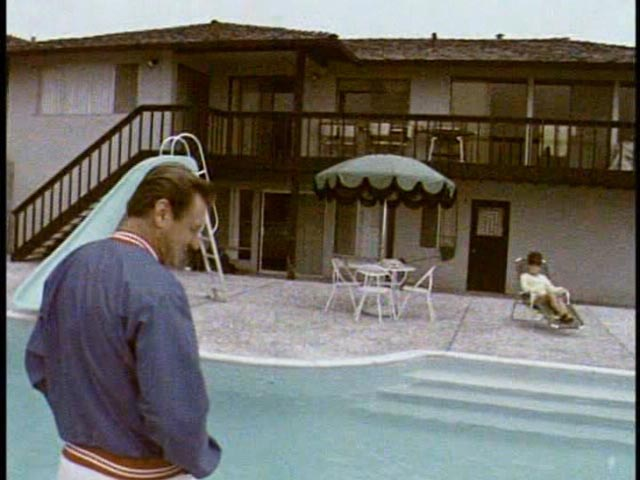 Charley O'Connell and the house he bought with his roller derby earnings in Robert Kaylor's Derby (1971)