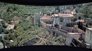 Landscape trumps story in Jack Cardiff's Cinerama travelogue-mystery Holiday in Spain (1960)