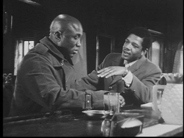 Melvin Rivers looks up old acquaintances in the days following his release from prison in Robert Kaylor's Max-Out (1970)