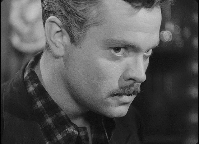 Orson Welles as a Nazi in hiding in The Stranger (1946)
