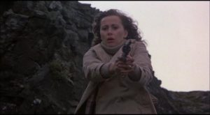 Kate Nelligan as a woman forced to assert herself in Richard Marquand's Eye of the Needle (1981)