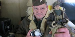Mark Hogancamp with his alter-ego Mark in Jeff Malmberg's Marwencol (2010)