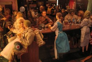 The bar in Marwencol in Jeff Malmberg's Marwencol (2010)