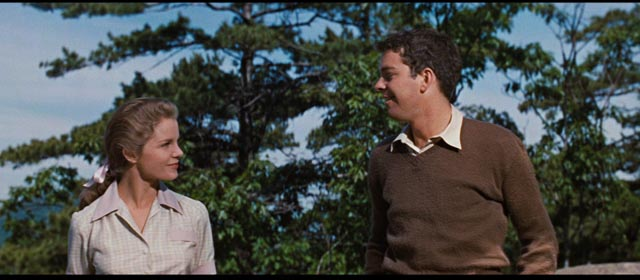 Alison (Diane Varsi) and best friend Norman (Russ Tamblyn) try to figure out life in Mark Robson's Peyton Place (1957)