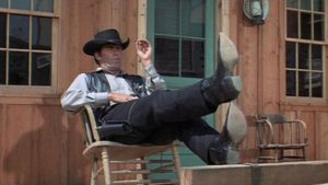 James Garner as the relaxed accidental lawman in Burt Kennedy's Support Your Local Sheriff! (1969)