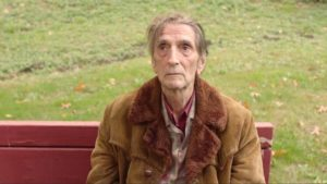 Harry Dean Stanton, in one of his final roles, returns as trailer court manager Carl in David Lynch's Twin Peaks (2017)