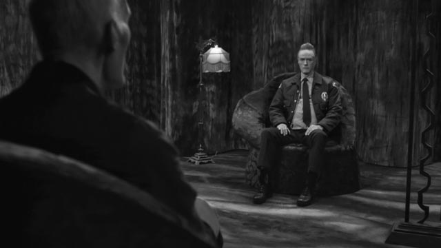 Deputy Andy Brennan (Harry Goaz) unexpectedly finds himself in the Other Place in David Lynch's Twin Peaks (2017)
