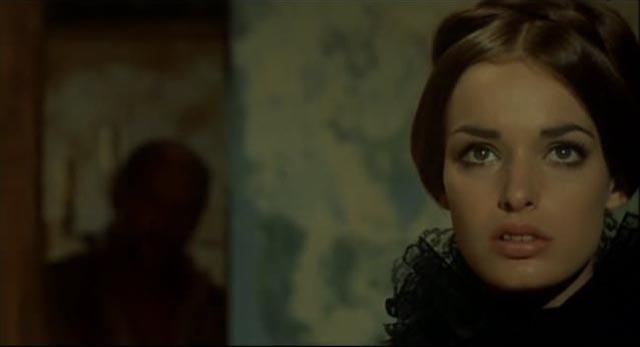 Adrienne Larussa as the murderous heroine of Lucio Fulci's Beatrice Cenci (1969)