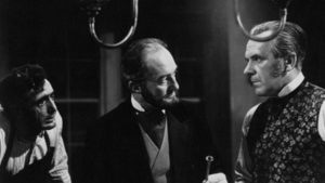 Two wealthy doctors and a hunchbacked mute add up to three red herrings in Robert S. Baker and Monty Berman's Jack the Ripper (1959)