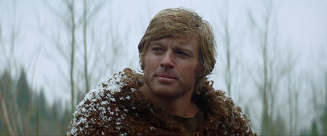 Robert Redford's quiet, thoughtful mountain man in Sydney Pollack's Jeremiah Johnson (1972)
