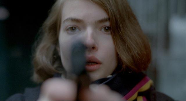 Zoë Tamerlis as mute victim-turned-avenger Thana in Abel Ferrara's Ms. 45 (1981)