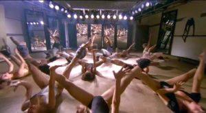 Lucio Fulci's Murder Rock Dancing Death (1988) gets off to a tasteful start
