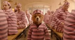 Wrongly convicted for robbery, Paddington makes the best of being in prison in Paul King's Paddington 2 (2017)