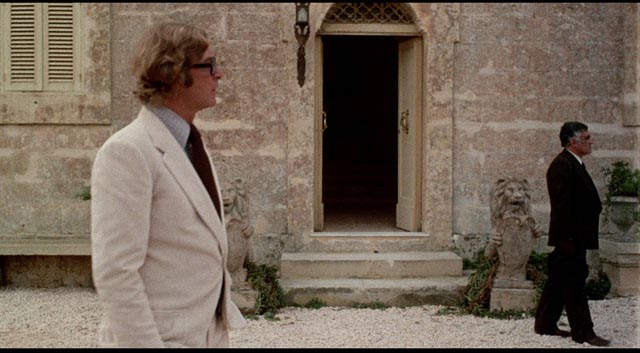 Hack writer Mickey King (Michael Caine) finds himself in the middle of a cheap crime story in Mike Hodges' Pulp (1972)
