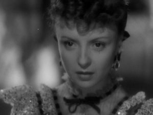 Douce (Odette Joyeux) realizes too late that fantasy can't survivie an encounter with reality in Claude Autant-Lara's Douce (1943)