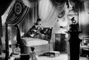 A privileged girl (Odette Joyeux) plays a dangerous game rooted in romantic fantasy in Claude Autant-Lara's Douce (1943)
