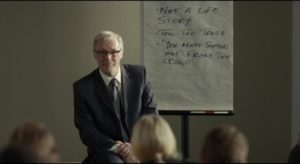 """More condescension doled out at an """"upbeat"""" CV workshop in Ken Loach's I, Daniel Blake (2016)"""