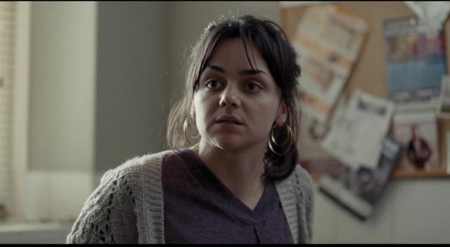 Daniel meets single mother Katie (Hayley Squires), also being abused by the system in Ken Loach's I, Daniel Blake (2016)