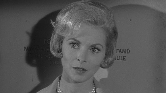 ... of Eugenie Rose's (Janet Leigh) interest in John Frankenheimer's The Manchurian Candidate (1962)