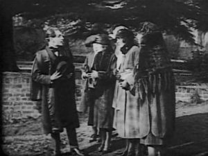 Isoldi Keene stages a fake miracle to lure in unsuspecting English women in Harry B. Parkinson's Trapped By the Mormons (1922)