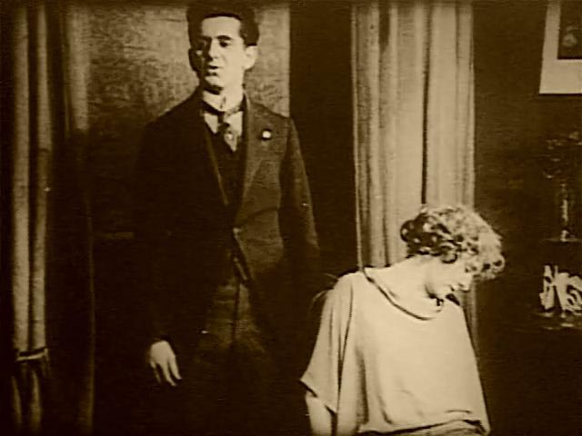 The Elders plot to murder Isoldi's wife Sadie (Olive Sloane) in Harry B. Parkinson's Trapped By the Mormons (1922)