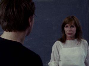 Baal wields a seductive power which traps Sophie (Margarethe von Trotta) in Volker Schlondorff's Baal (1970) ...