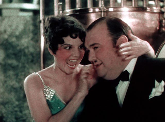 "Jeanie Lang gets cute with Whiteman in ""I'd Like to do Things for You"" in John Murray Anderson's King of Jazz (1930)"