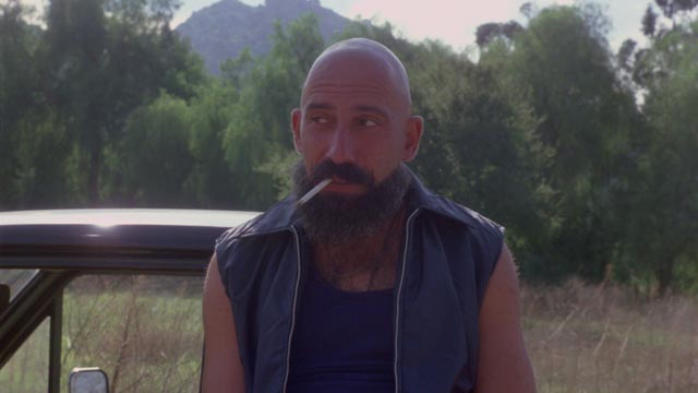 Cutter (Sid Haig) enjoys the low budget apocalypse of Steve Barkett's The Aftermath (1980)