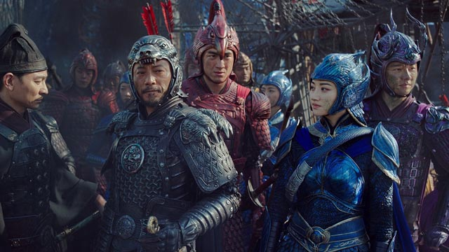 Colourful production design is no substitute for a good script in Zhang Yimou's The Great Wall (2017)