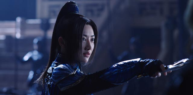 Tian Jing as the fearless Commander Lin Mae in Zhang Yimou's The Great Wall (2017)