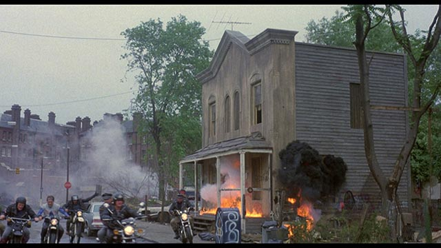 There goes the neighbourhood in Michael Winner's Death Wish 3 (1985)