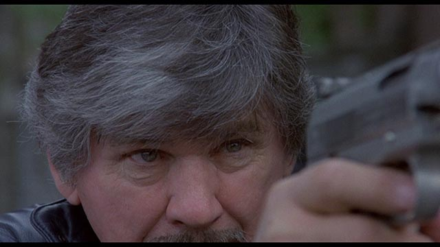 Charles Bronson as quintessential urban vigilante Paul Kersey in Michael Winner's Death Wish 3 (1985)