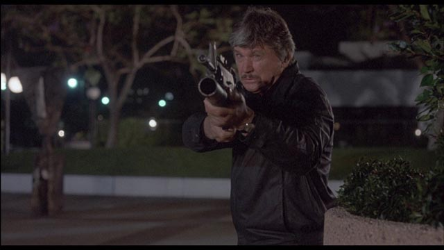 The guns just keep getting bigger: Charles Bronson in J. Lee Thompson's Death Wish: The Crackdown (1987)