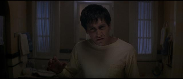 Donnie (Jake Gyllenhaal) sees other dimensions in Richard Kelly's Donnie Darko (2001)