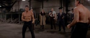 Chaney (Charles Bronson) has one last fight before moving on in Walter Hill's Hard Times (1975)