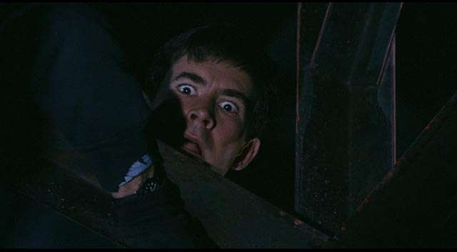 Dennis (Anthony Perkins)'s harmless fantasies turn into a waking nightmare in Noel Black's Pretty Poison (1968)