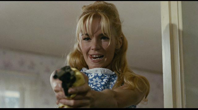 Dream girl Sue Ann (Tuesday Weld) ignites the nightmare in Noel Black's Pretty Poison (1968)
