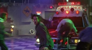Eric Roberts gets more than he bargained for on the dance floor in Larry Cohen's The Ambulance (1990)