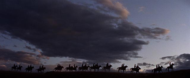 Majestic landscapes evoke a romanticized vision of the West in Arnold Laven's The Glory Guys (1965)