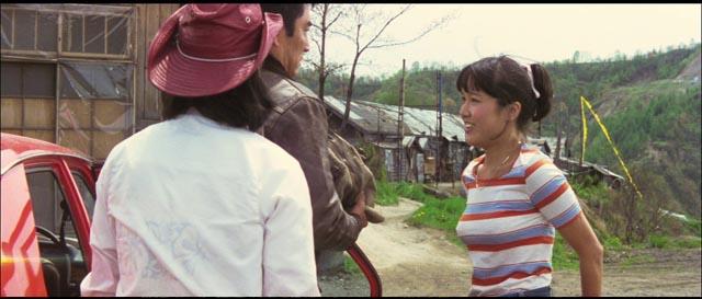The three accidental companions gain self-knowledge through helping one another in Yoji Yamada's The Yellow Handkerchief (1977)