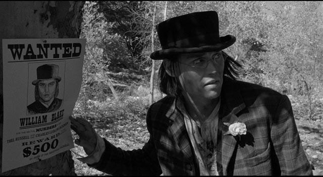 John Dickinson's desire for revenge permeates the wilderness in Jim Jarmusch's Dead Man (1995)