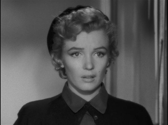 Sensuality blends with vulnerability in Monroe's screen persona in Roy Ward Baker's Don't Bother to Knock (1952)