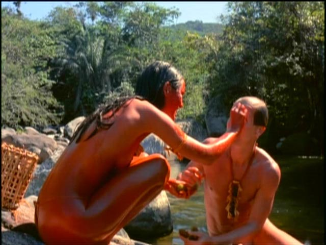 Genuine affection develops between the Frenchman and his temporary wife in Nelson Pereira dos Santos' How Tasty Was My Little Frenchman (1971)